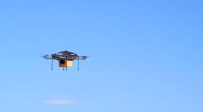It's a bird! It's a plane! It's an #Amazon delivery drone! http://t.co/qZxjuEr4u3 http://t.co/g5AV6V3eqr