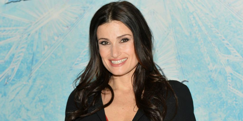 Whoa! Idina Menzel is almost unrecognizable as a blonde: http://t.co/cvw8VqIzZr http://t.co/iJmrfXD4EY