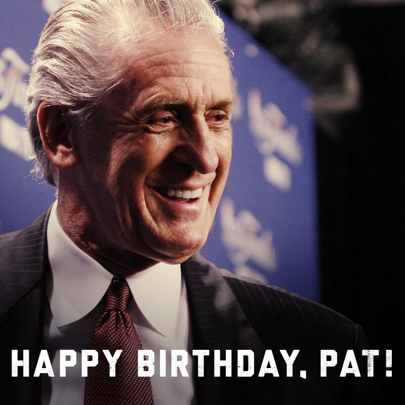 Miami Heat On Twitter Please Join Us In Wishing Pat Riley A Very