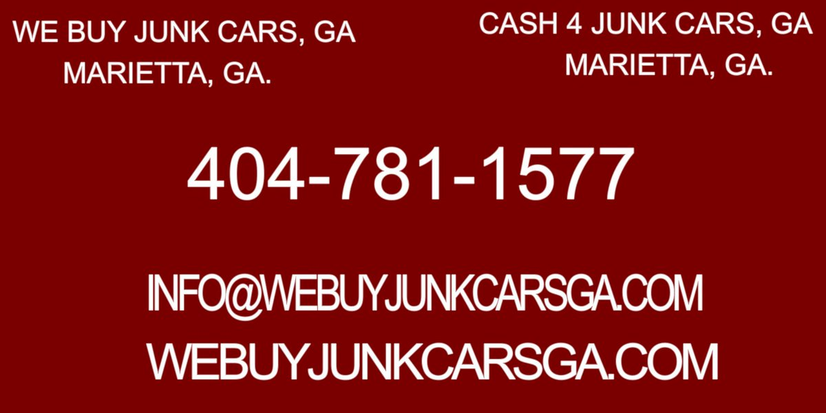 We Buy Junk Cars Ga (@WeBuyJunkCarsGa) | Twitter