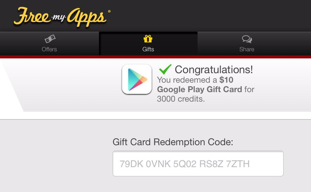 Clash Of Clans Free Gift Card Google Play - Gift Ideas