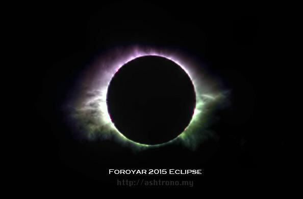 Foto Eclissi di Sole di Halda Mohammed dalle Isole Faroe