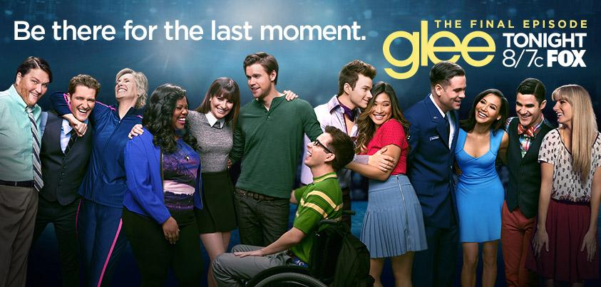It's been 6 years of music, dancing, friendship & love! Join us TONIGHT at 8/7c for the 2 hour finale. #glee http://t.co/ivah50rhLQ