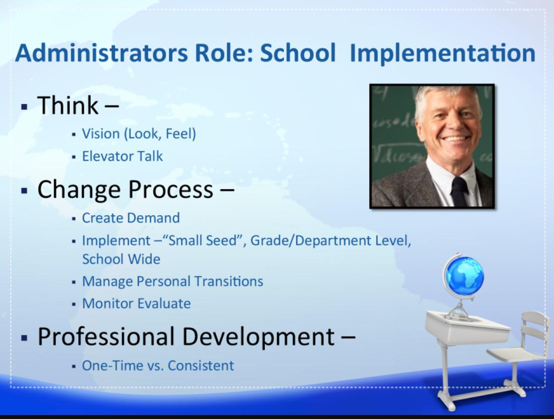 Admin role in school implementation: #NCCE2015 #csd49 http://t.co/Ff4pyDt1Zw