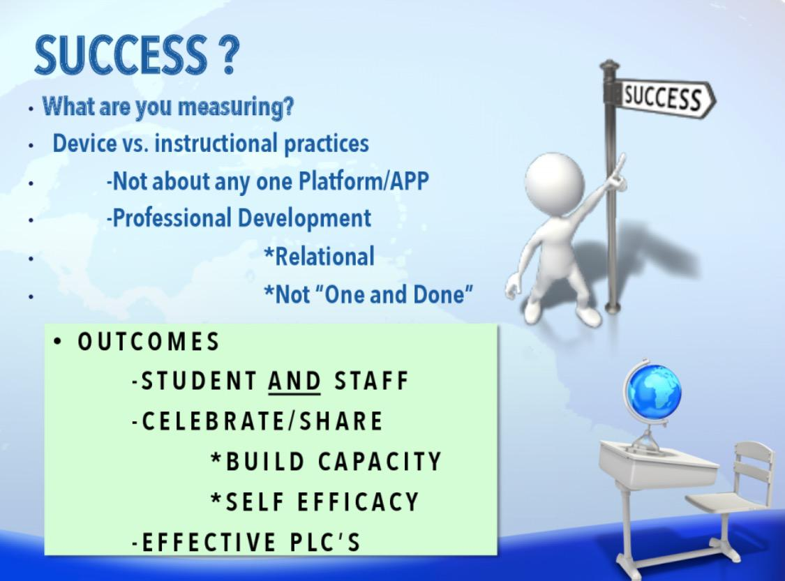 How to measure success of tech implementation: #NCCE2015 #csd49 http://t.co/ESzhuiFXhb