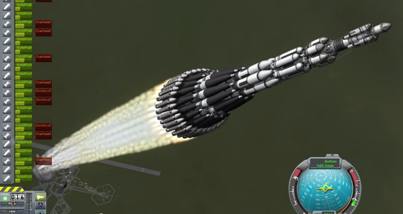 """xndr✨ on Twitter: """"Crazy stuff like this """"Mars Ultra Direct"""" rocket is why  I love Kerbal Space Program! https://t.co/adAzmj2tg3 http://t.co/Fy7G3upSr1"""""""