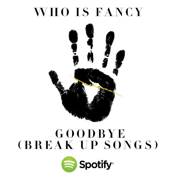 Who Is Fancy — Goodbye (studio acapella)