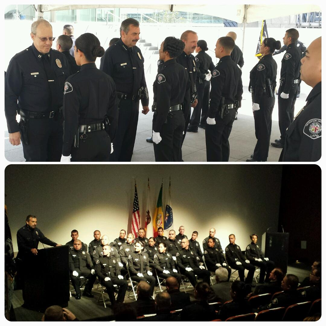 chief charlie beck on twitter proud of the newest lapd detention officers class 1 15 stay steadfast focused on your journey in law enforcement