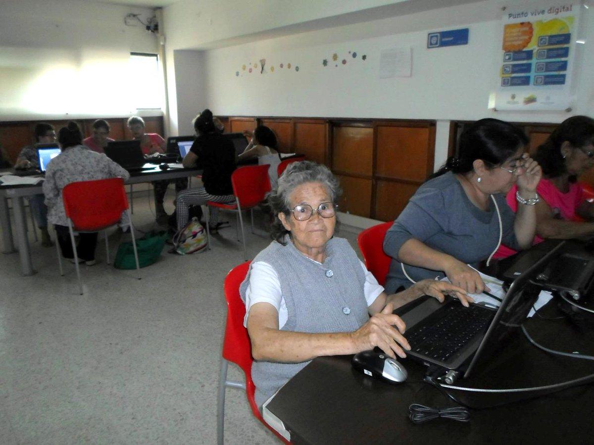 En los Puntos #ViveDigital no hay excepción de edades para acercarse a las #TIC. ¡Alfabetización digital para todos! http://t.co/yoUJ8k6uTU