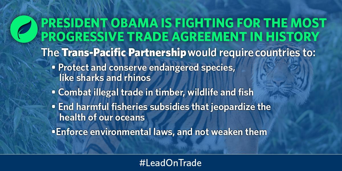 See how President Obama's #trade deal will protect our environment and tackle illegal fishing: http://t.co/BowXRQko6x http://t.co/L2apd0oM81