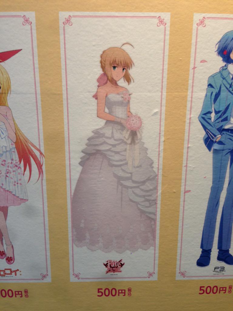 本日より開催中のanimejapan アニプレックスブースではFateコーナーも充実!制作関係者から多数のメッセージを展示したり、描き下ろしポスターや缶バッチの販売なども!ぜひご覧下さい! #fate_sn_anime