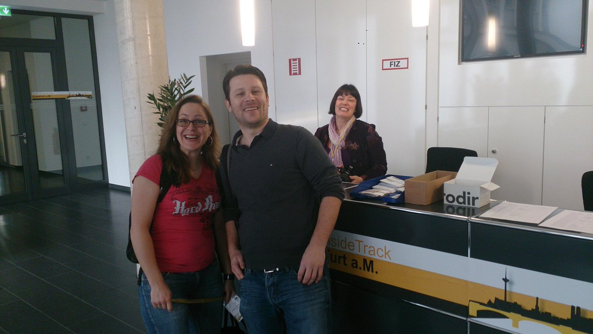 Hi @jasmingruschke and @ABAP4H ! Welcome at #sitFRA ! http://t.co/yCbehLB89h