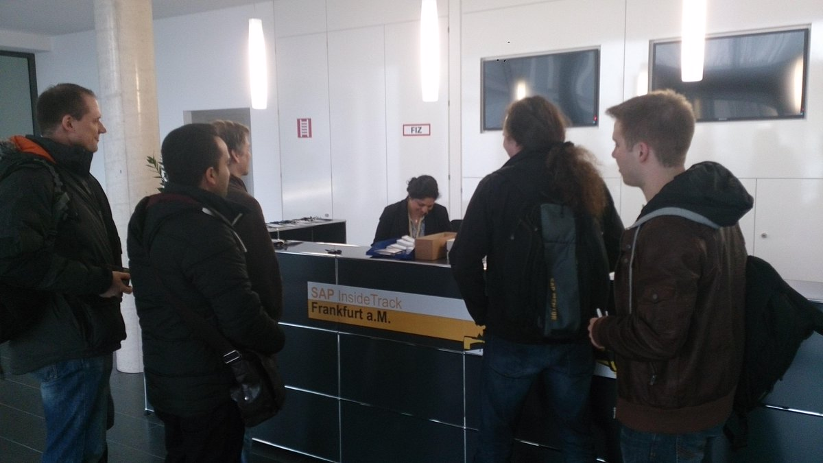 participants of #sitFRA are arriving http://t.co/uuoyIXYgtf