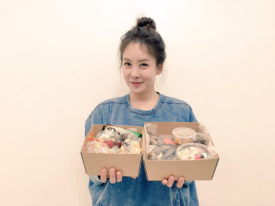 숙아 고마워 잘먹을께!!! http://t.co/GTh7z1dXKV