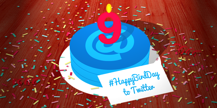 Twitter is 9 today! Wishing you a Big Happy Bird-day (see what we did there?) #HappyBirthdayTwitter http://t.co/c8kfeMygqb