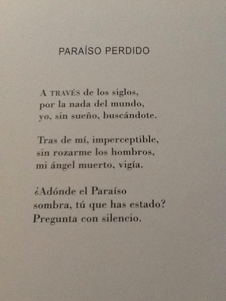 Frases Poéticas On Twitter Paraiso Perdido Rafael Alberti