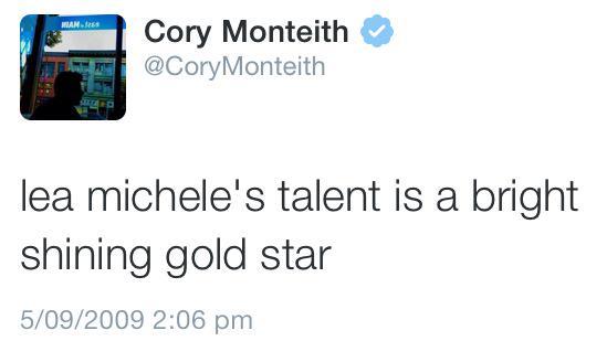 She did it #GleeGoodbye http://t.co/UocgRO3fde