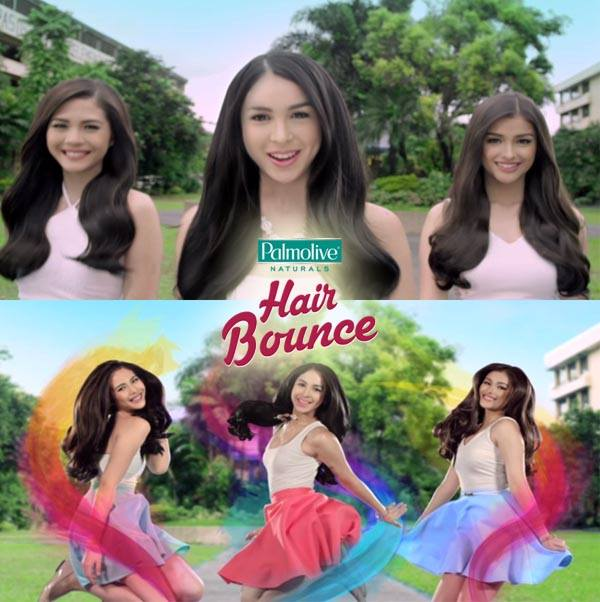 Bounce Bounce Palmolive The Palmolive Hair Bounce