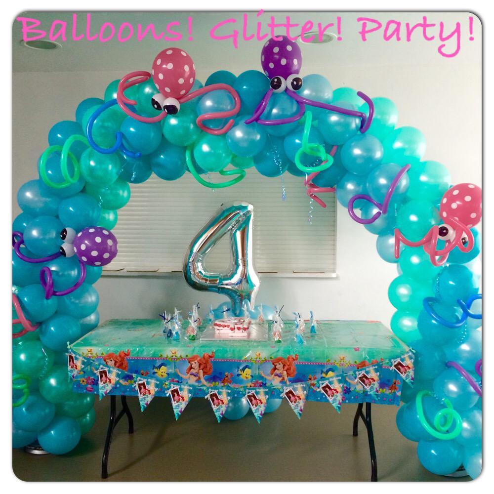 Essex Balloon Design On Twitter Under The Sea Balloon Arch