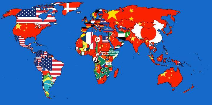 Frank Eijsink on Twitter Map of biggest import partners per