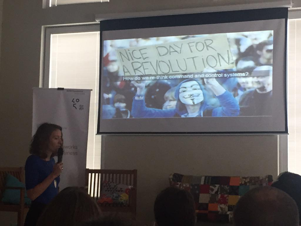 """""""@RodrguezFelipe """"what can companies learn from anarchists? Provocations in Rio from @alexaclay #laylf15  http://t.co/zv6jRQGdiw"""""""