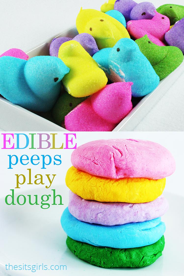 Edible Playdough Recipe | Peeps Marshmallow Play Dough http://t.co/jl7Rb4CFwX #sitsgirls http://t.co/NjCqXBCwwP