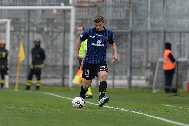 Ristovski during the game