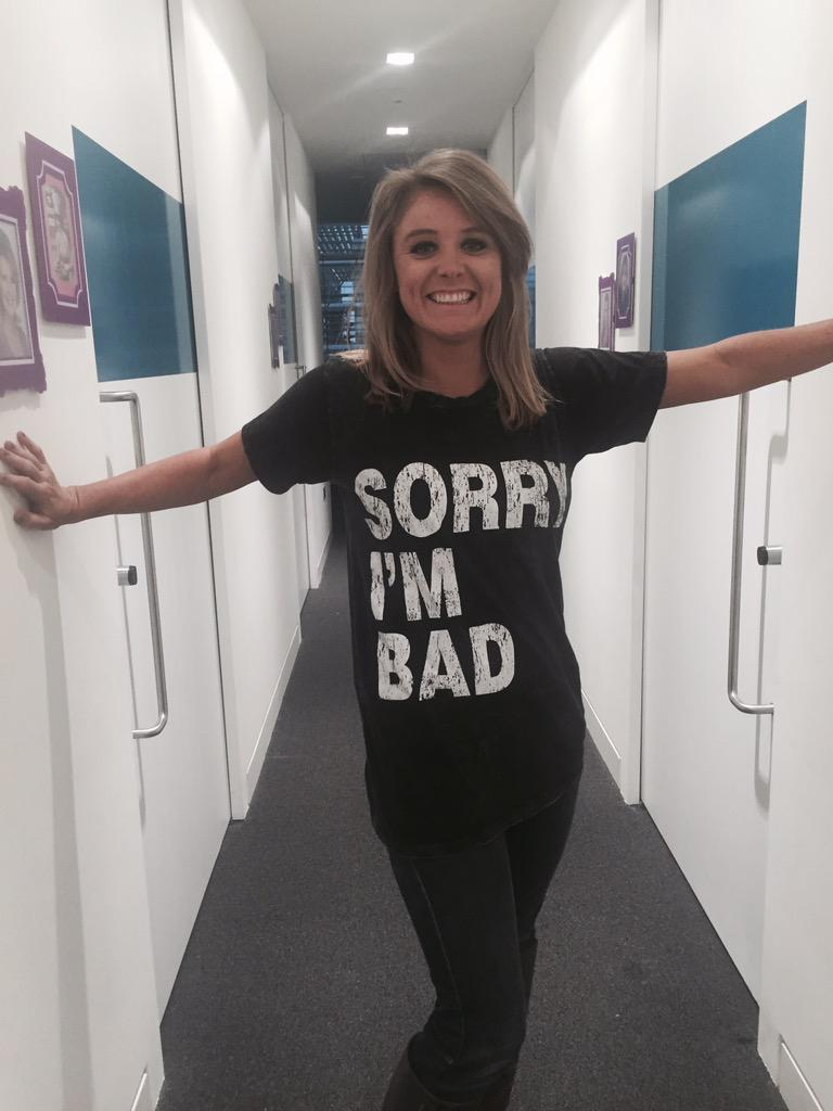 This t-shirt has a special message for @jackiekabler #SorryImBad <br>http://pic.twitter.com/HAP0vAn4lk