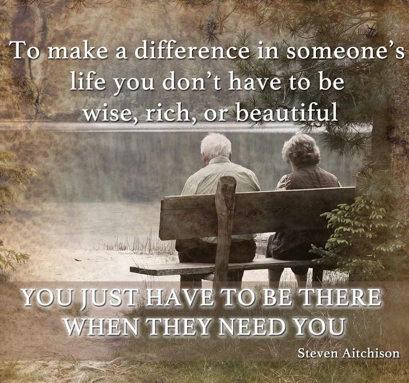To make a difference in someone's life... ❤ #wisdombits http://t.co/xV0D4MKQID