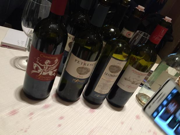 Delicious wines from Luca and Valeria at Le Cinciole, a grand Chianti Classico producer. At Vinnatur today. http://t.co/sHwGtik3bT