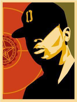 >@MrChuckD and @rustyrockets both use @OBEYGIANT art as #twitter profiles. Anyone else? #sxsw #revolution #art http://t.co/hCfcpZirLD