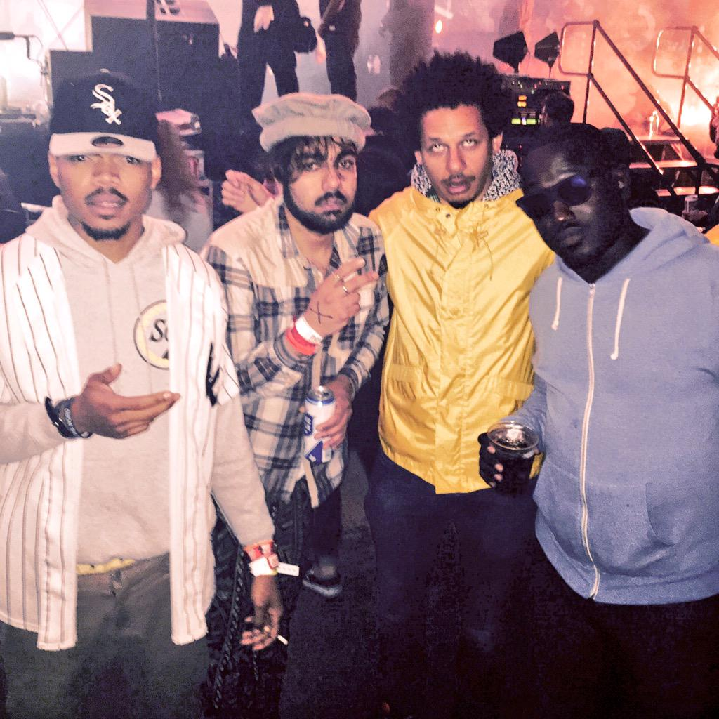 This whole crew at @thefader. #faderfort #SXSW @chancetherapper @HIMANSHU @ericandre @hannibalburess http://t.co/k7YyMUZ9VD