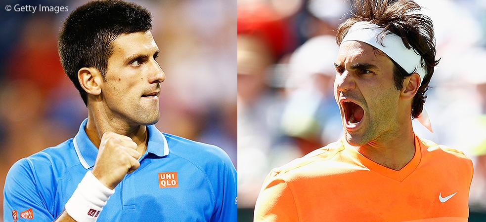 Rojadirecta Diretta Tennis: Djokovic-Federer streaming ATP Masters 1000 di Indian Wells