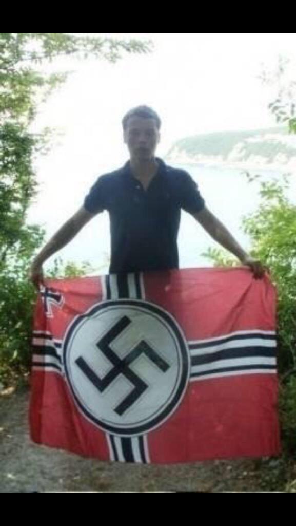Мильчаков на форуме фашистов в Питере