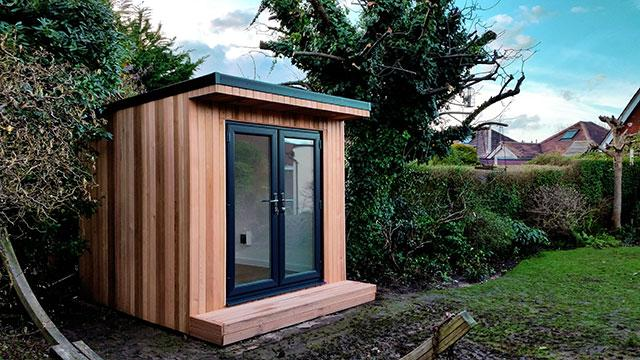 Garden room hq on twitter read about this garden office for Garden office pod