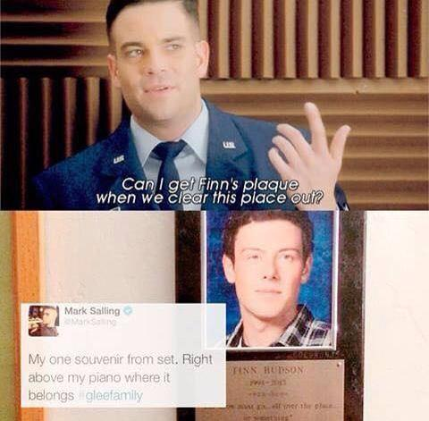 """""""If you had to choose one person to live with for the rest of your life?"""" Mark Salling: """"probably Cory."""" http://t.co/dXKZy1T7YG"""