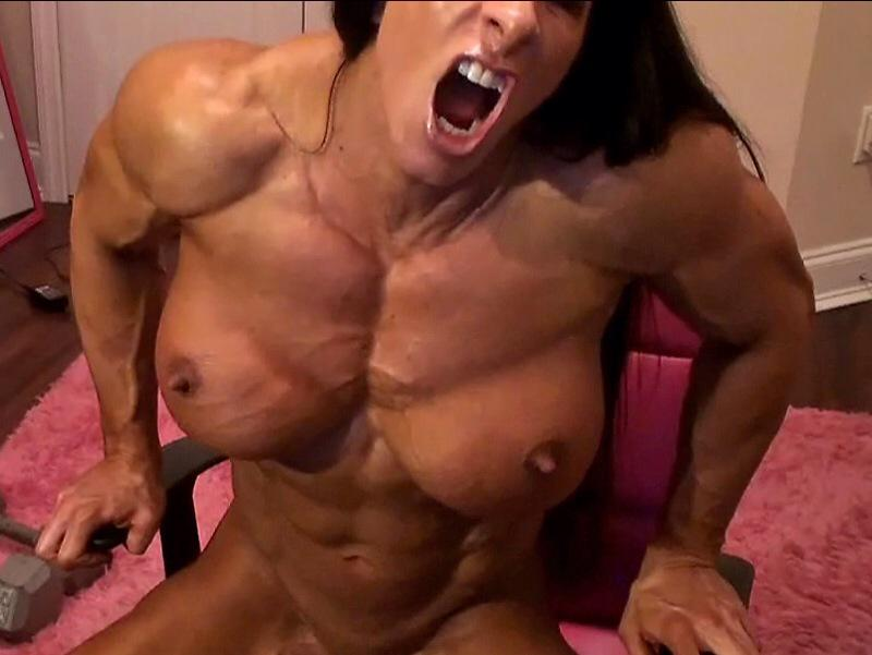 Naked female bodybuilder angela salvagno