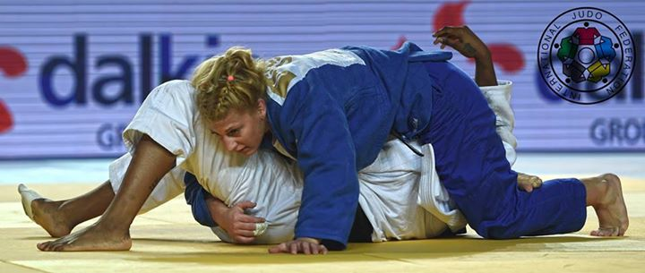 She does it again!! Congrats @Judo_Kayla for yet another great performance. Kayla wins gold at the Grand Prix Tbilisi http://t.co/bnM6tbRQd8