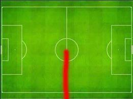 #LIVMUN ~ Steven Gerrard's heat map in the game. http://t.co/TMTTsqXpxh