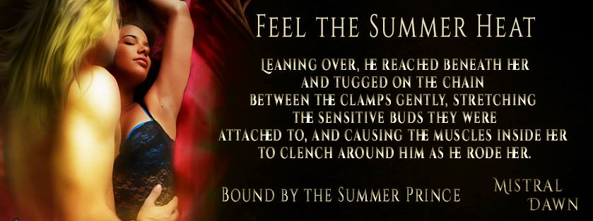 #Craving #heat for #Summer? #Bound By The #Summer #Prince http://amzn.to/1aGXdFJ  #BookBoost #SNRTG #BDSM #PNR pic.twitter.com/hVhhCtfYOn