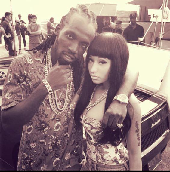 @NICKIMINAJ crazy work ahead. #Gullyside http://t.co/xFkVgZaJd7