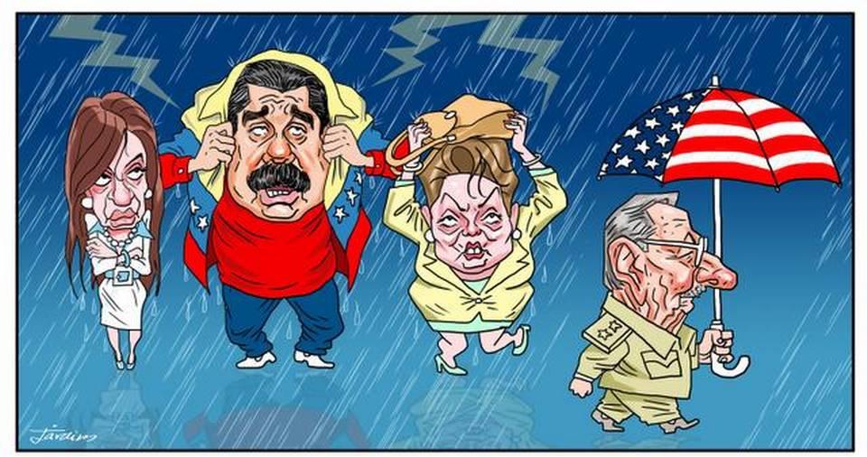 Compartimos con ustedes nuestra caricatura de hoy.