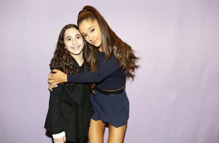 Ariana grande on twitter new photo hq ariana meeting fans at ariana grande on twitter new photo hq ariana meeting fans at the honeymoon tour meet and greet in new york city honeymoontour m4hsunfo