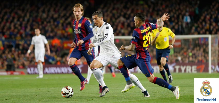 Barcelona vs Real Madrid 2015 Highlights 2-1