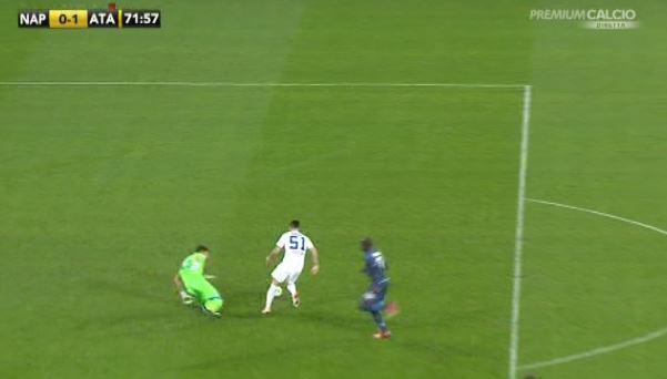 Risultati Serie A: Atalanta in 10 rischia di vincere a Napoli VIDEO GOL
