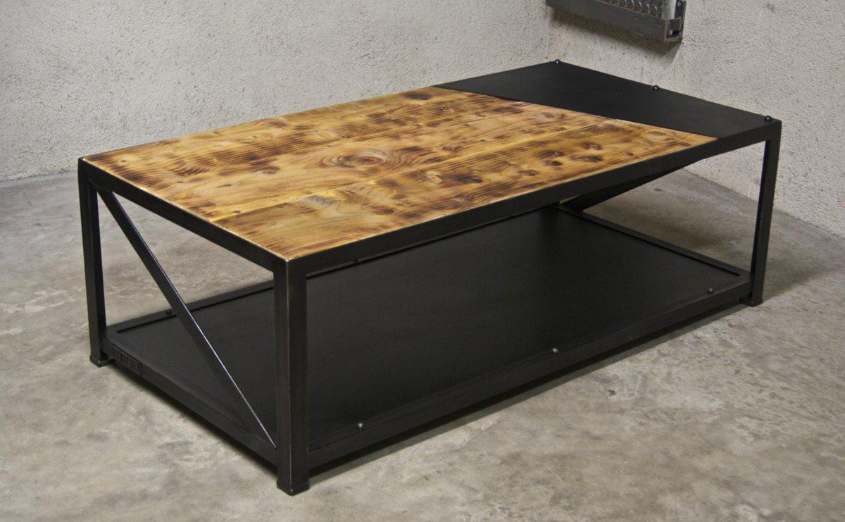 table basse atelier loft trendy table basse loft bis with table basse atelier loft trendy. Black Bedroom Furniture Sets. Home Design Ideas