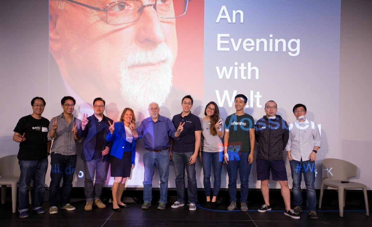 A great overview of Friday's 'Evening with Walt Mossberg' is here: http://t.co/ycDFjuf8Jt by @jgriffiths http://t.co/ISqL9LxWox