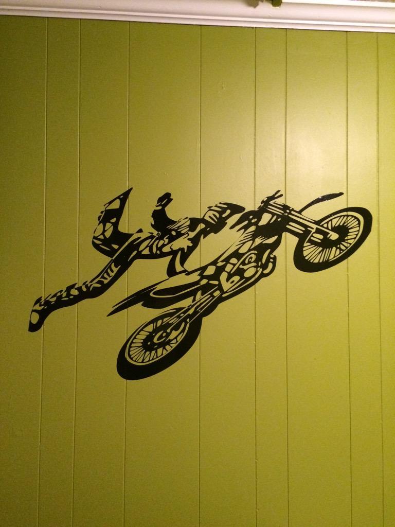 Fancy Motocross Wall Art Image - Wall Painting Ideas - arigatonen.info