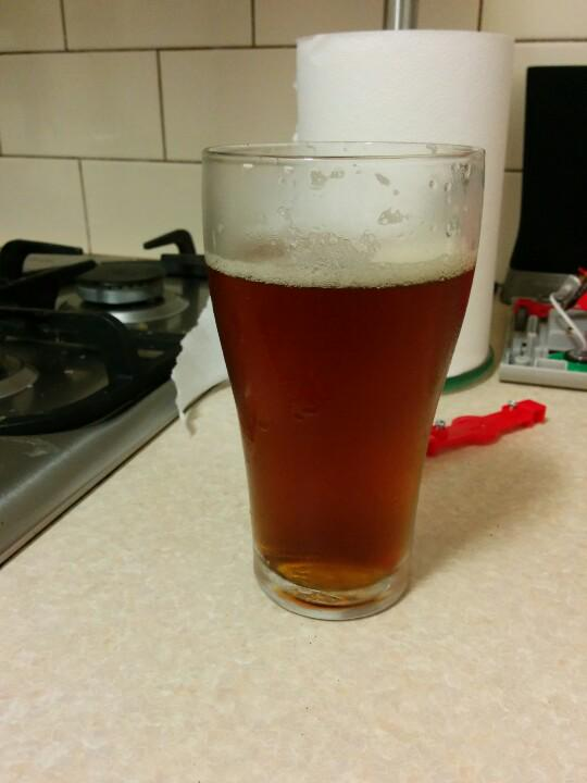 Enjoying an IPA from the keg at home :) #homeBrew http://t.co/il7ylDY4LH