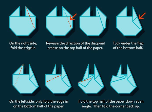 Make your own origami millennium falcon - scoopnest.com - photo#19